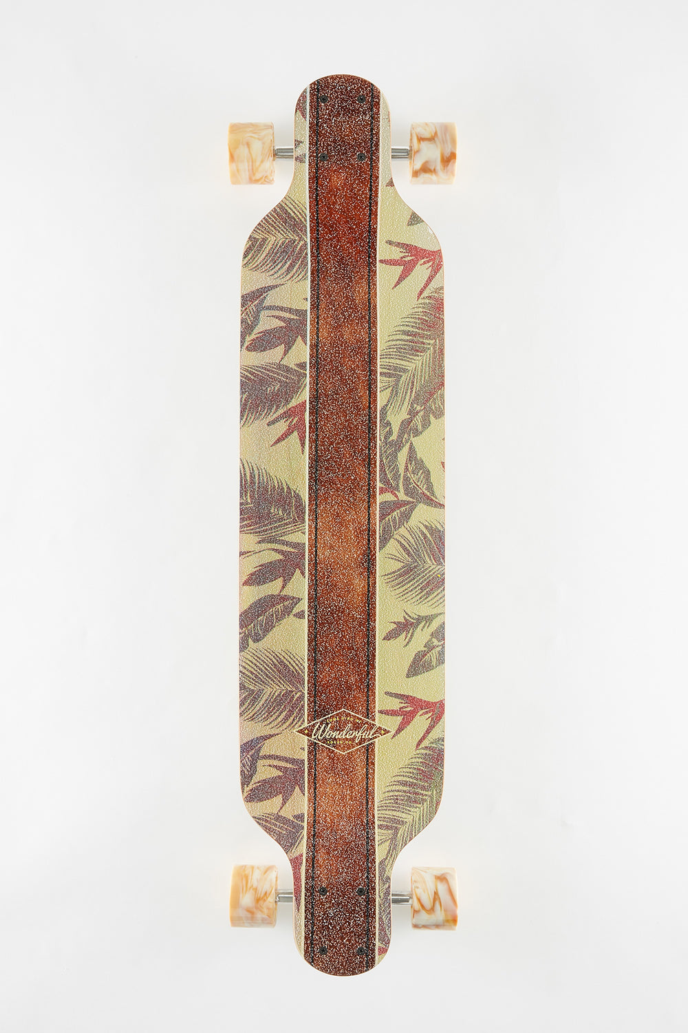 Wonderful Natural Floral Longboard 39