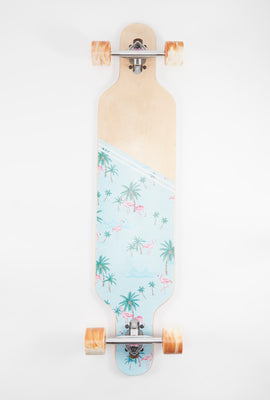 Longboard Zoo York Flamant Rose 40