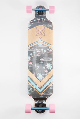 Longboard Flamants Roses Zoo York 40