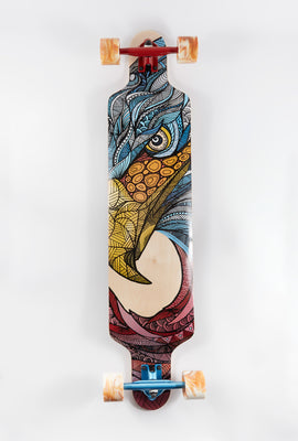Wonderful Wood Eagle Longboard 42
