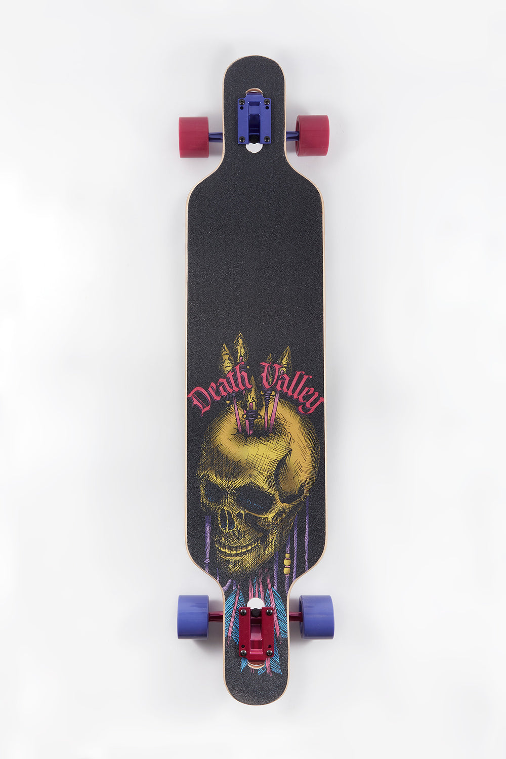 Death Valley Arrow Skull Longboard 42