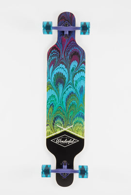 Longboard Plumes De Paon Wonderful 40