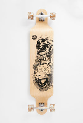 Longboard Imprimé Animaux Wonderful 42