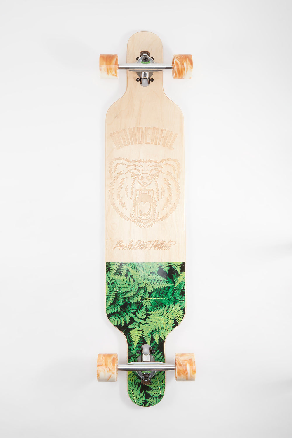 Longboard Push, Don't Pollute Wonderful 41.75