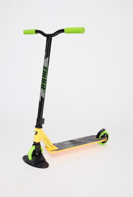 Pivot X-Ride Neon Green and Orange Scooter