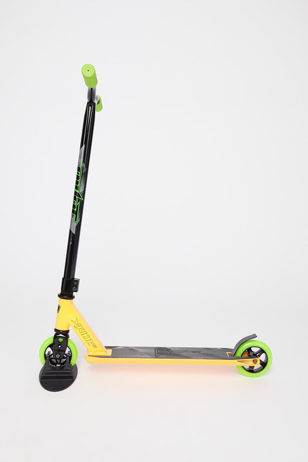 Pivot X-Ride-S Neon Green And Orange Scooter Orange