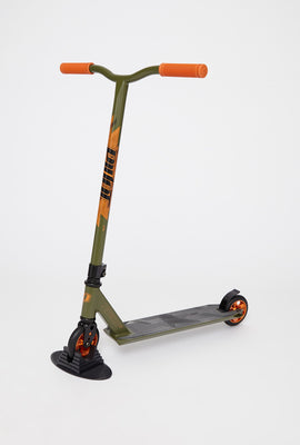 Pivot X-Ride-S Khaki And Orange Scooter