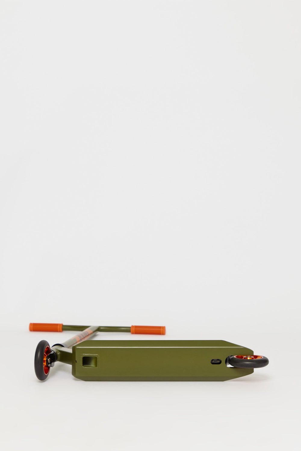 Pivot X-Ride-S Khaki And Orange Scooter Dark Green