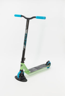 Pivot X-Ride Green and Blue Scooter