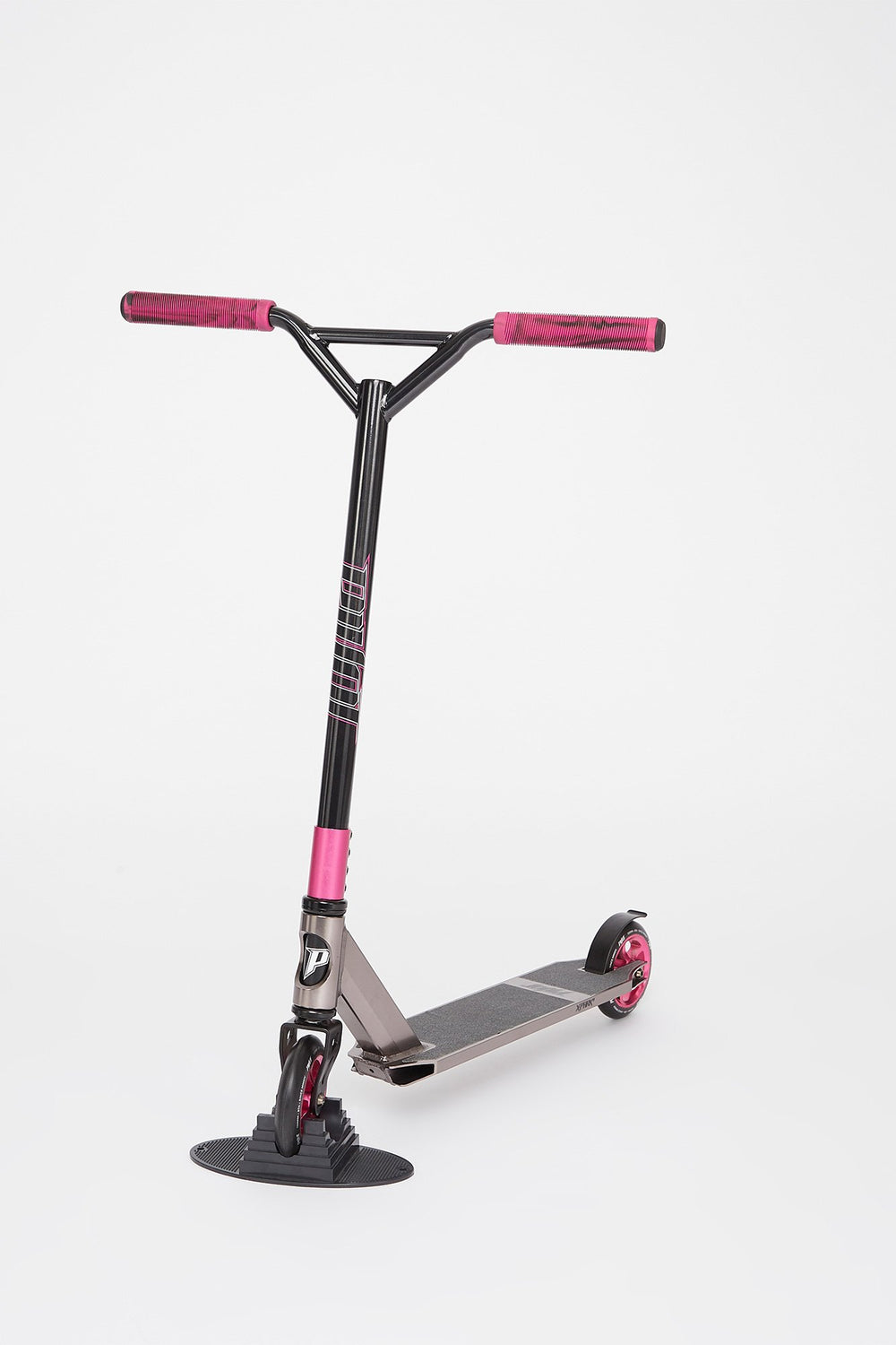 Pivot X-Park-S Charcoal And Magenta Scooter Charcoal