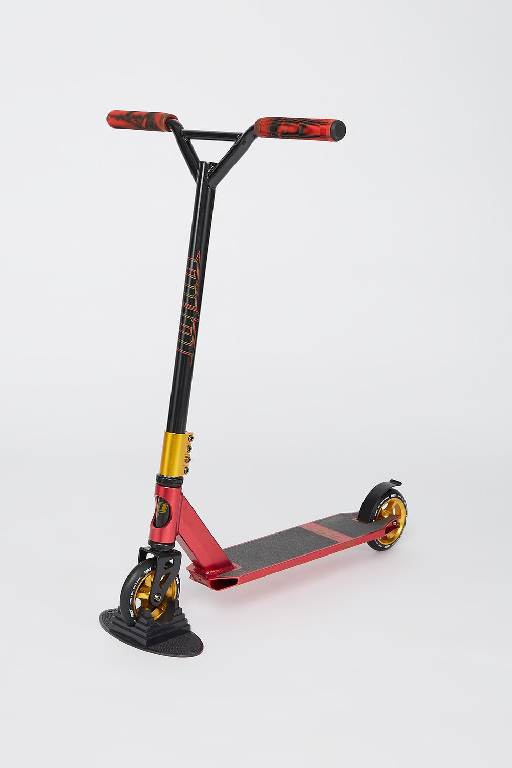 Red and Gold Pivot Scooter Red