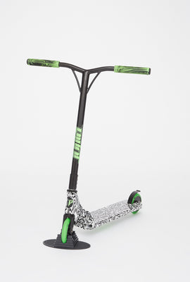 Pivot X-UP-S Zebra And Lime Green Scooter