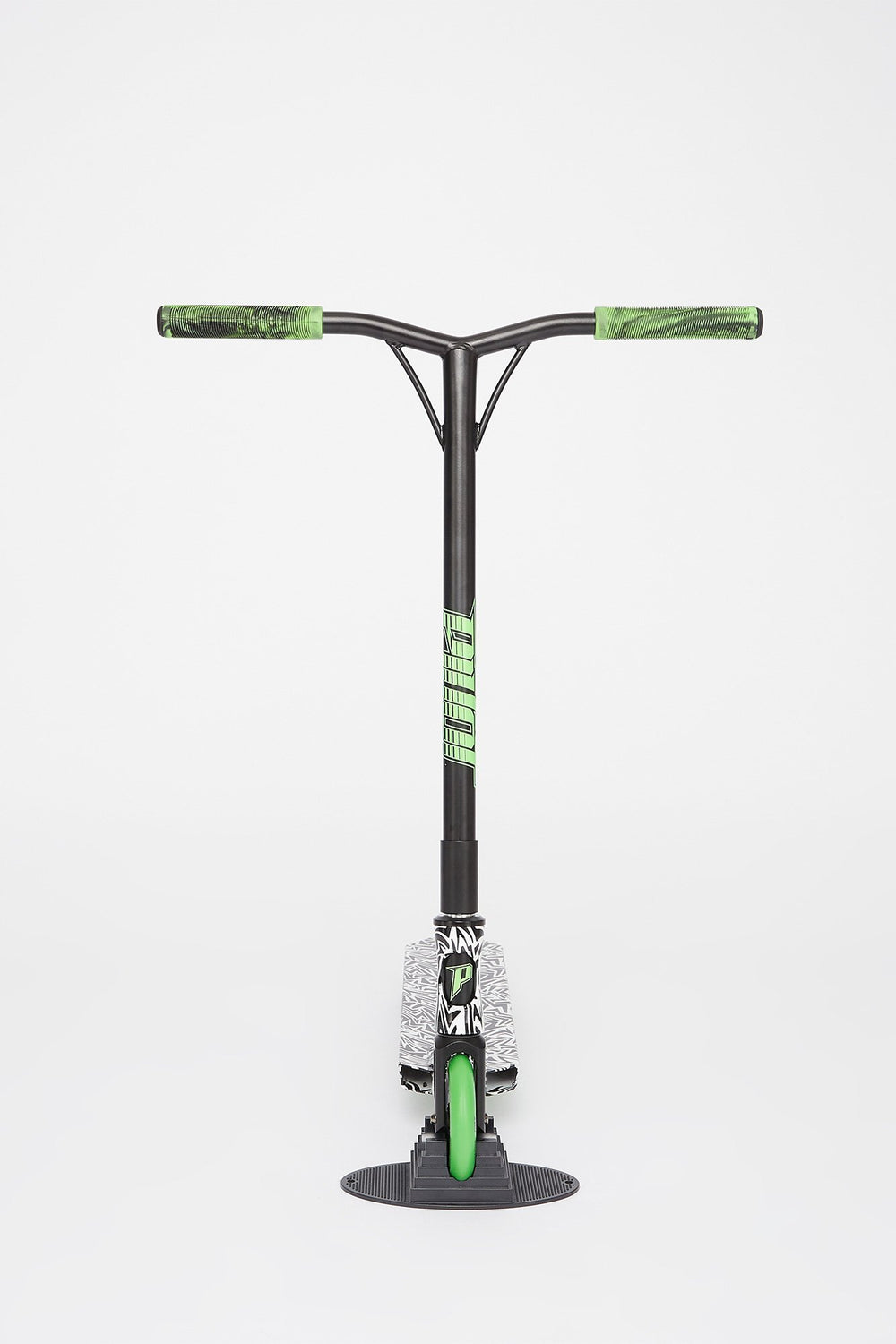 Pivot X-UP-S Zebra And Lime Green Scooter Green