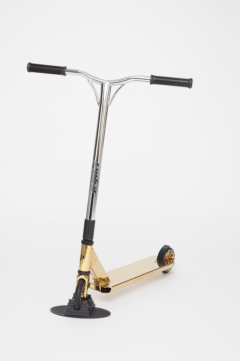 Pivot X-Pro-S Silver And Gold Scooter Gold
