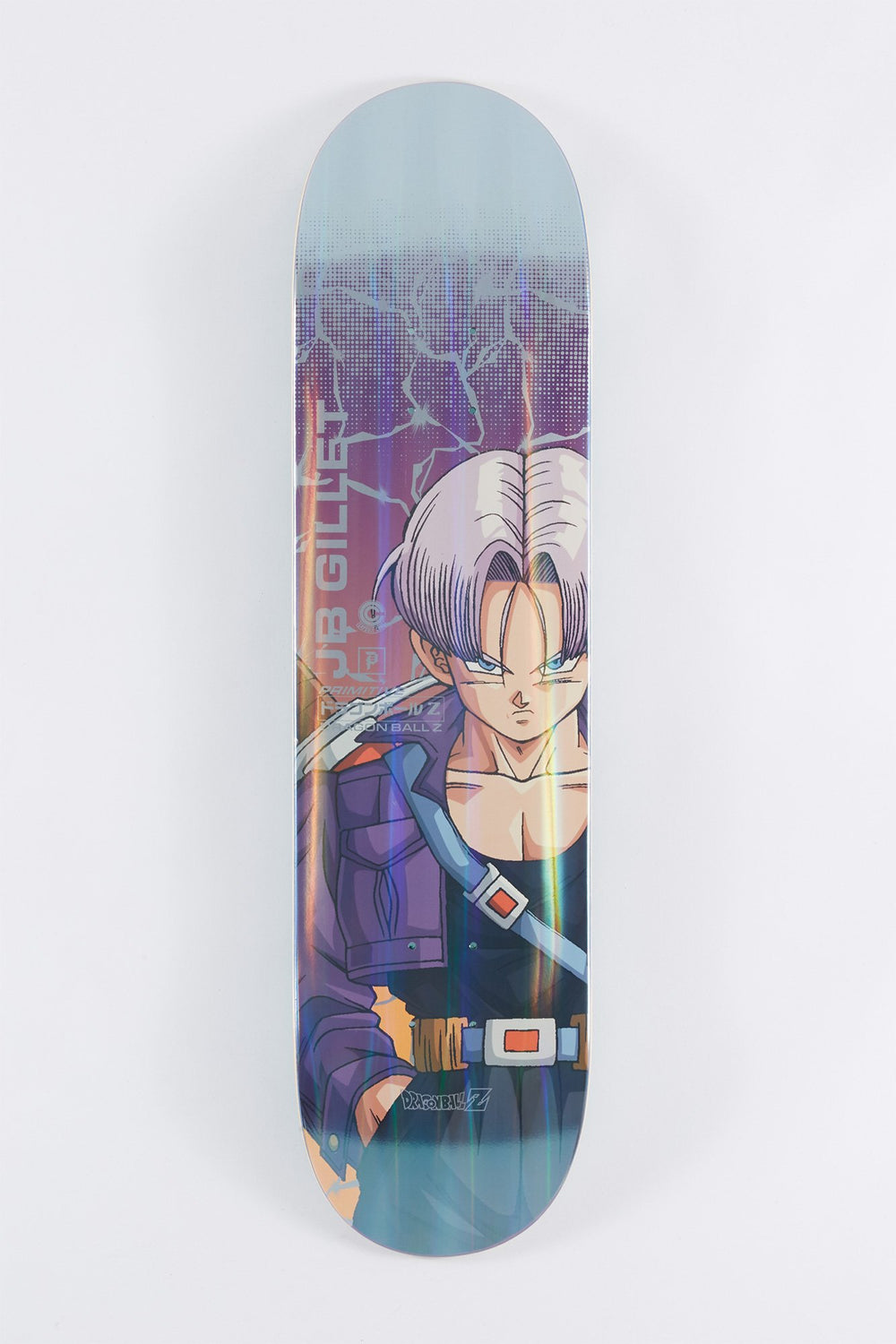 Primitive Gillet Dragonball Z Trunks Power Level Skateboard Deck 8