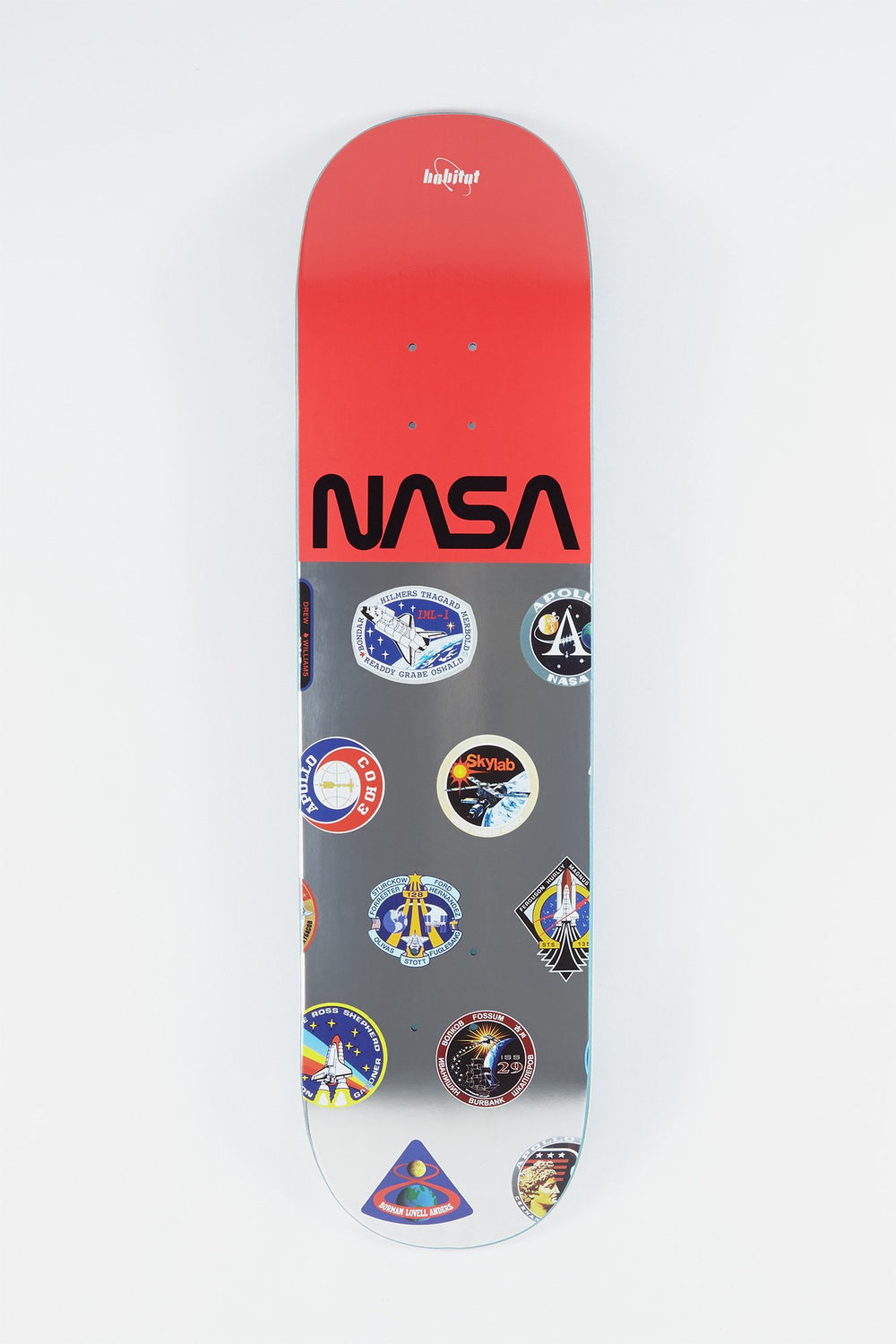 Habitat x NASA Logo Array Skateboard Deck 8.125