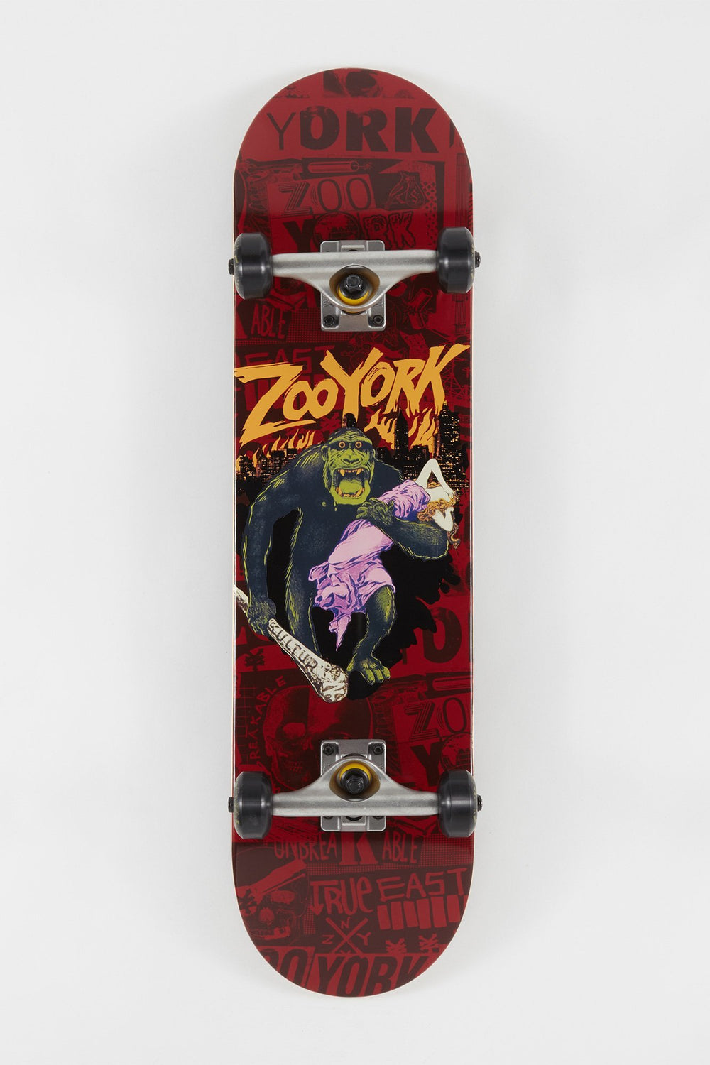 Zoo York Beast Skateboard 8