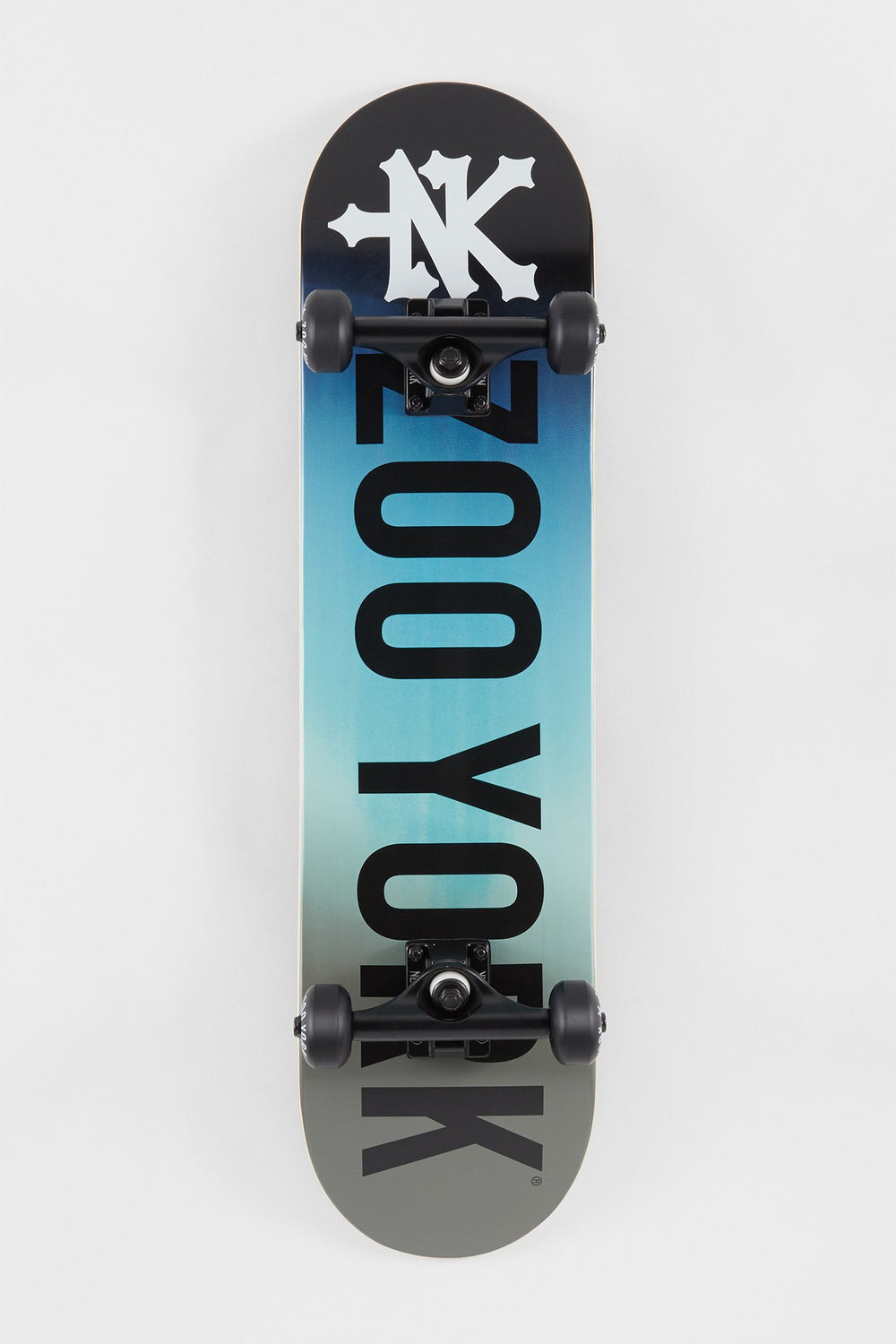 Zoo York Blue Gradient Skateboard 7.75