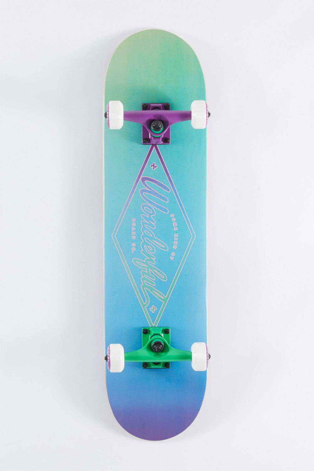 Wonderful Gradient Logo Skateboard 7.75