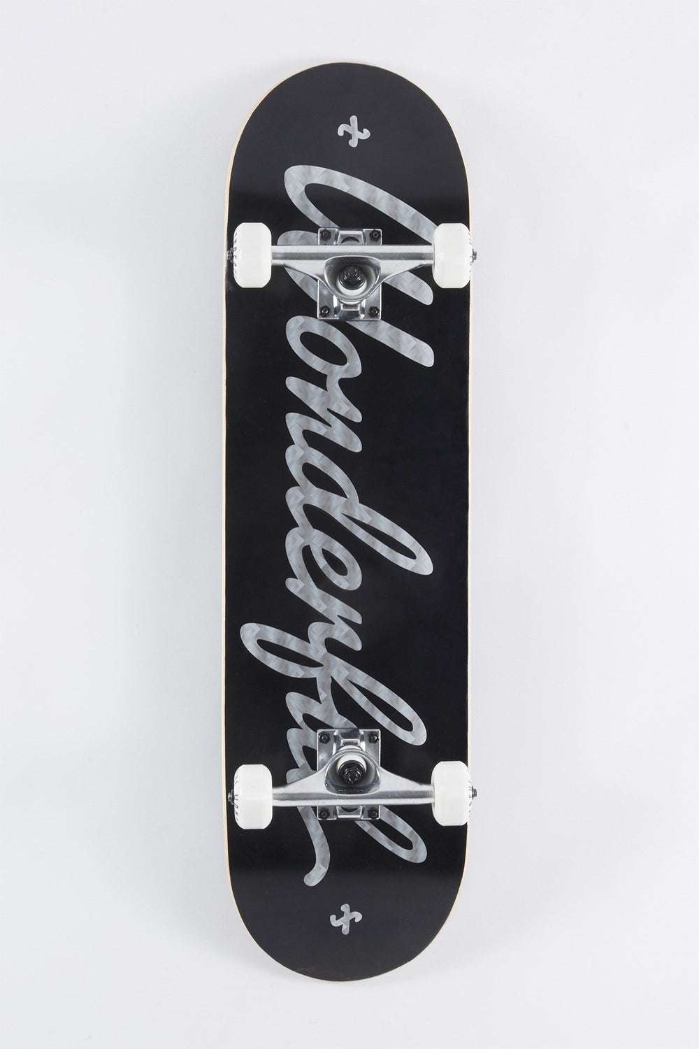 Wonderful Metallic Logo Skateboard 8.25