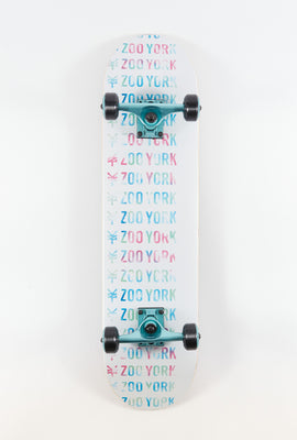 Skateboard Logo Repeater Zoo York 7.75