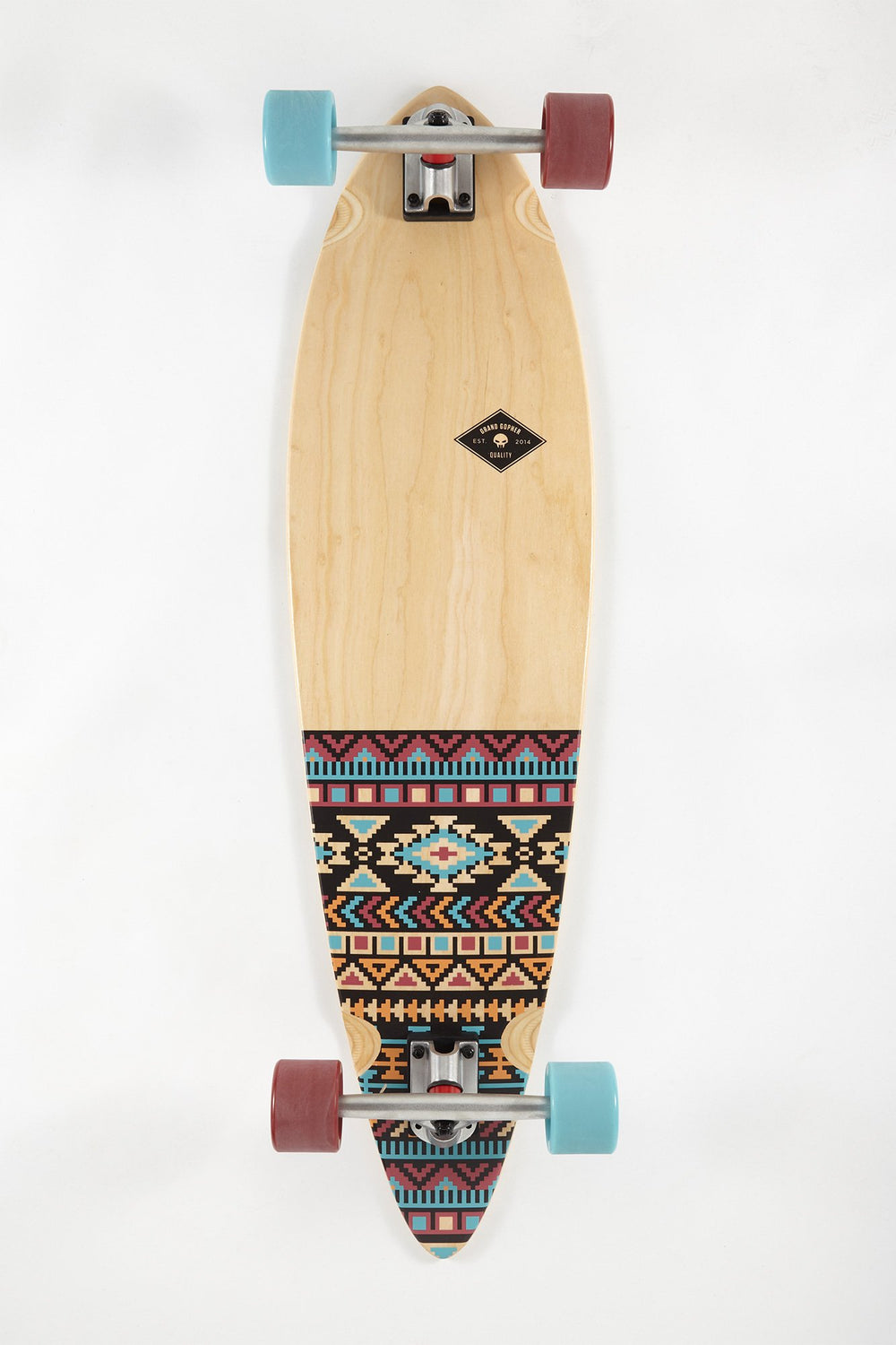 Grand Gopher Aztec Longboard 38