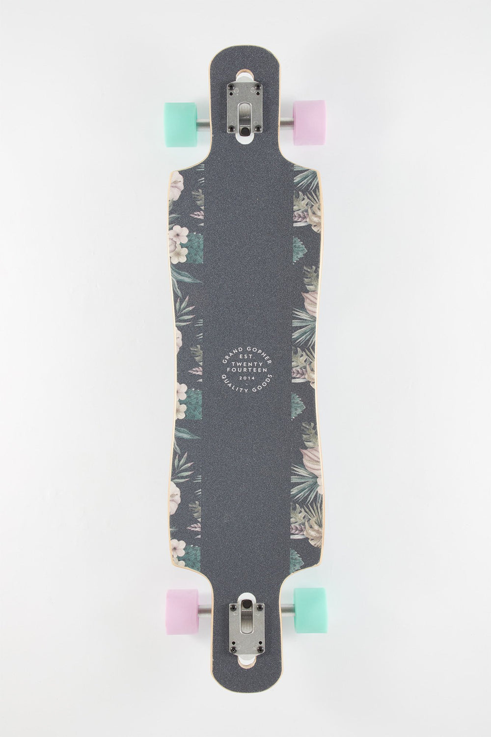 Longboard Grand Gopher Imprimé Floral 39