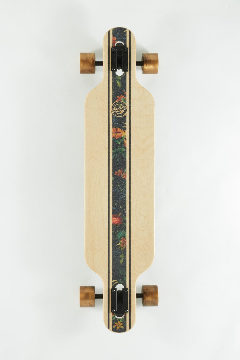 Wonderful Floral Print Longboard 39