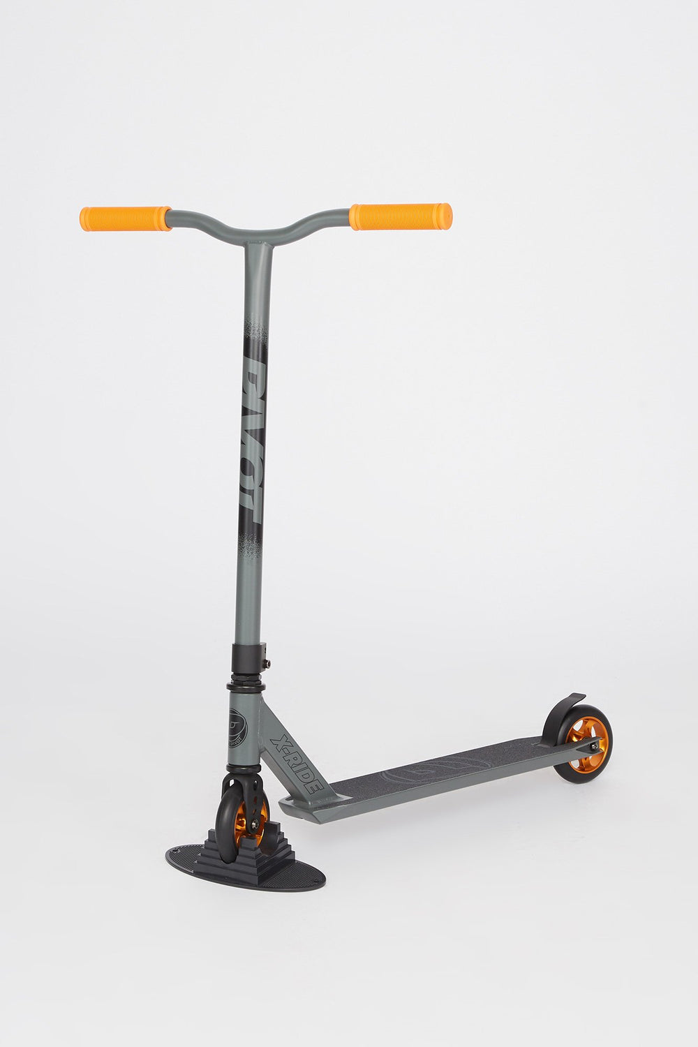 Trottinette Pivot X-Ride Grise et Orange Gris