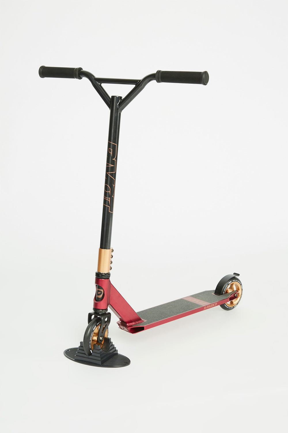Pivot X-Park Rose Gold Burgundy Scooter Burgundy