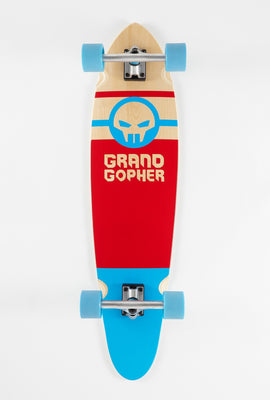 Grand Gopher Red and Blue Longboard - 38