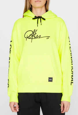 Young & Reckless Womens Neon LA Popover Hoodie