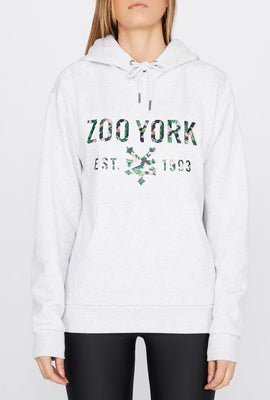 Zoo York Womens Tropical Logo Hoodie