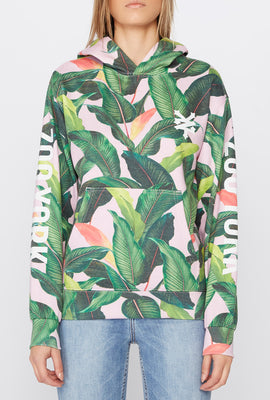 Zoo York Womens Tropical Print Hoodie