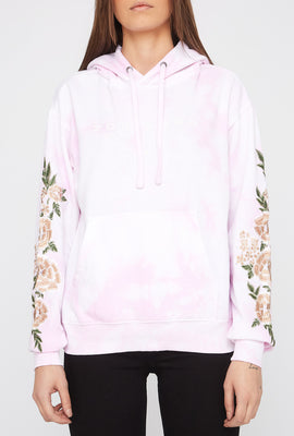 Zoo York Womens Embroidered Roses Hoodie