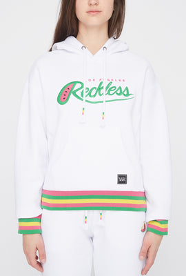 Haut à Capuchon Logo Fruit Young & Reckless Femme