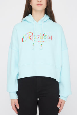 Young & Reckless Womens Cropped Hoodie