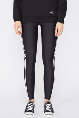 Zoo York Womens Side Stripes Leggings