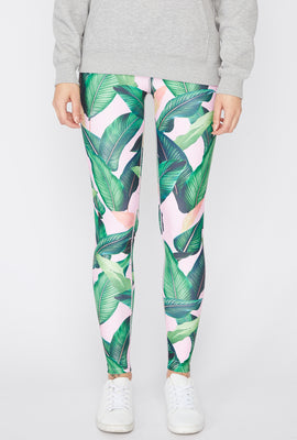 Leggings Imprimé Tropical Zoo York Femme
