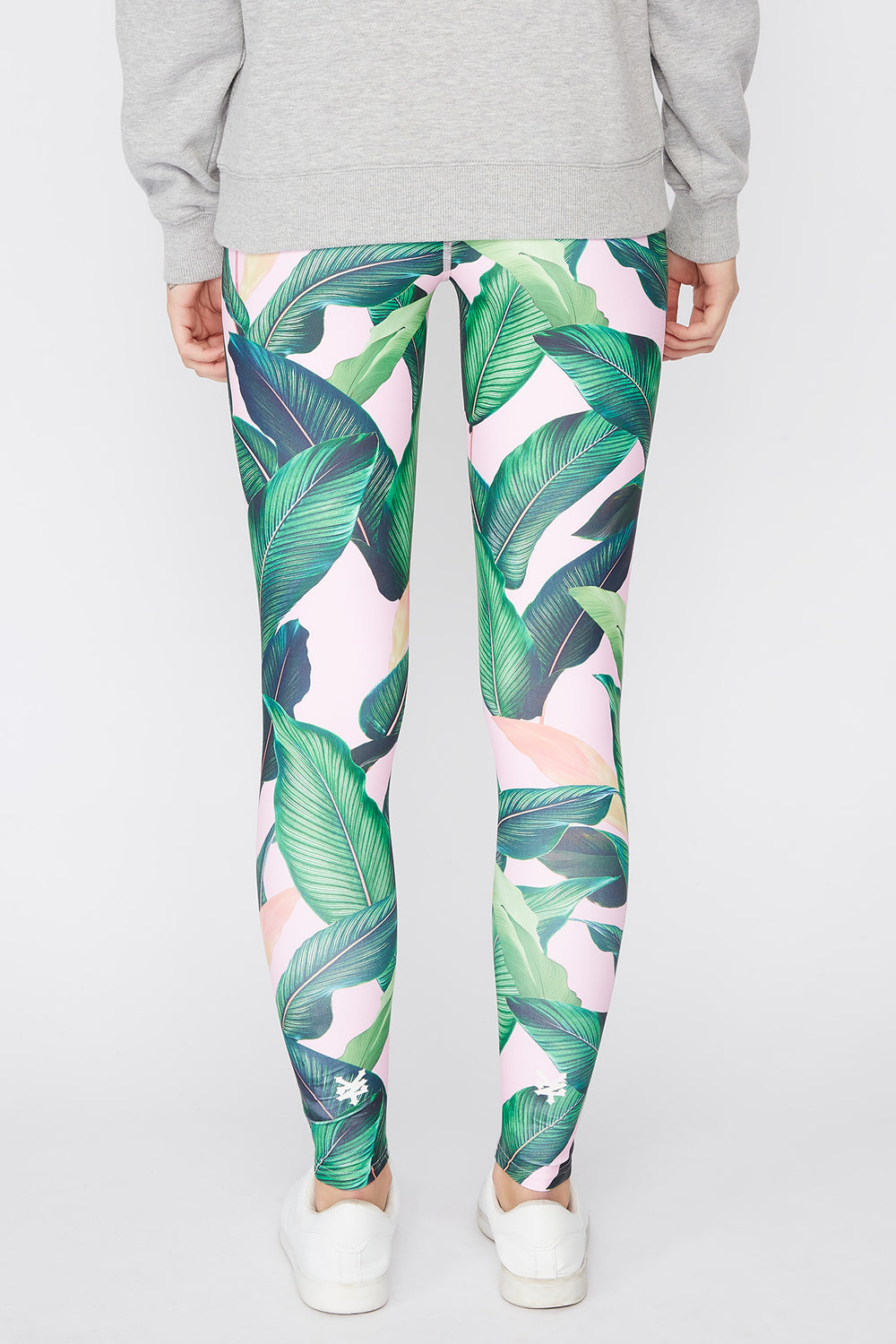 Leggings Imprimé Tropical Zoo York Femme Multi