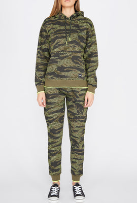 Jogger Imprimé Camouflage Young & Reckless Femme