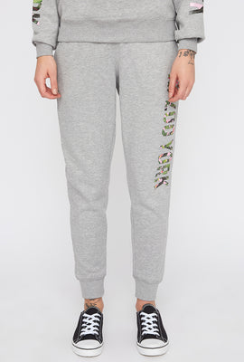 Zoo York Womens 3-Pocket Tropical Logo Joggers