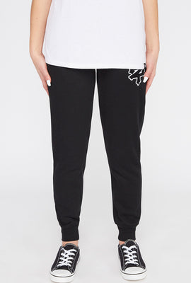 Zoo York Womens Chenille Patch Logo Joggers