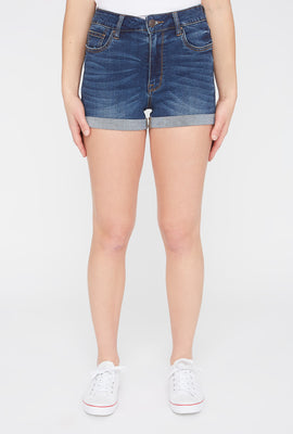 Zoo York Womens High Waisted Denim Short