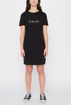 Zoo York Womens T-Shirt Dress