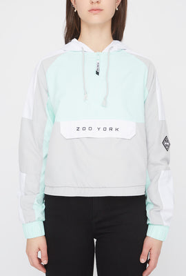 Zoo York Womens Cropped Colour Block Jacket