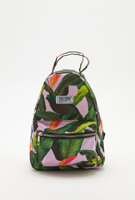 Zoo York Tropical Print Mini Backpack