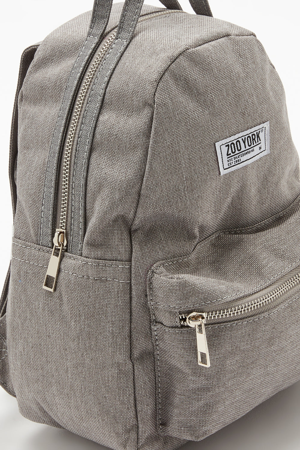 Zoo York Grey Mini Backpack Heather Grey