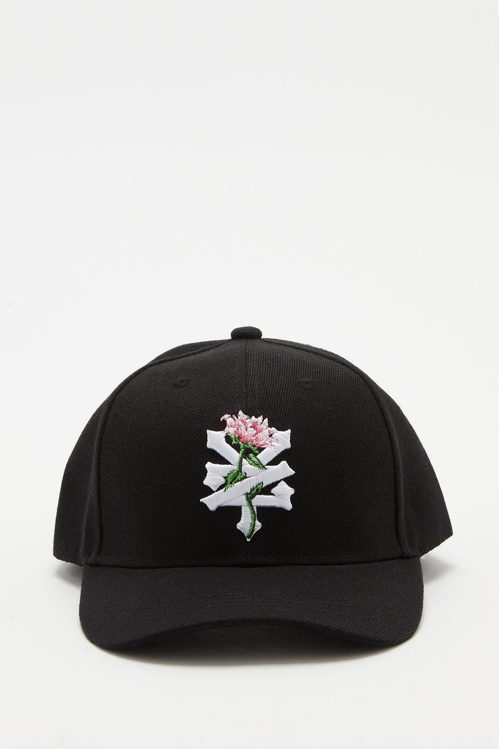 Zoo York Womens Rose Logo Hat Black