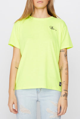 T-Shirt Fluo LA Young & Reckless Femme
